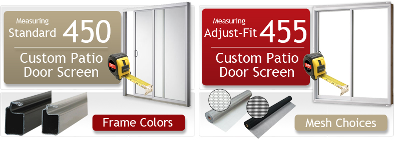 patio door screens